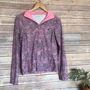 Lilly Pulitzer Pretty Pink cloud Frances popover